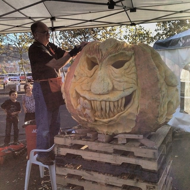 Huge Oregon Jackolantern