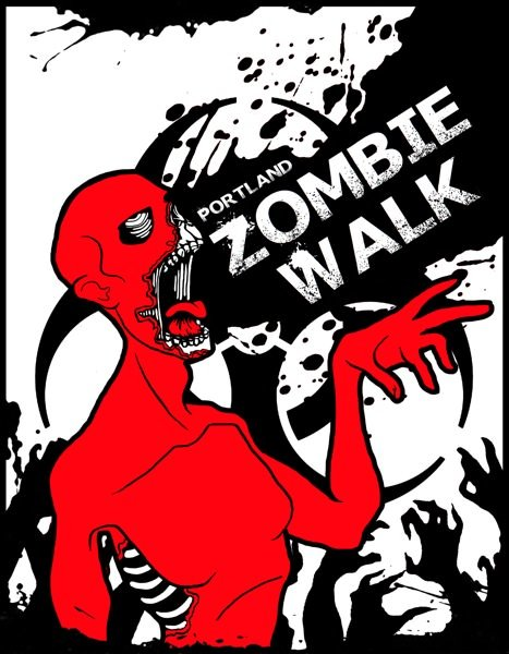 Portland Zombie Walk 2014