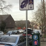 Cars, Parking meters, and parking signs