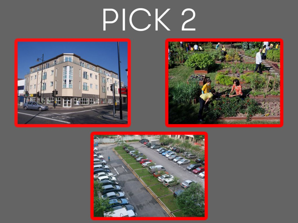 Affordable Housing, Open Spaces, Abundant Parking: Pick Two