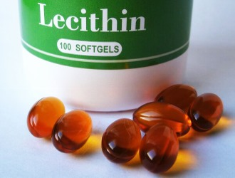 Oftast kan du hitta lecitin i kapselform
