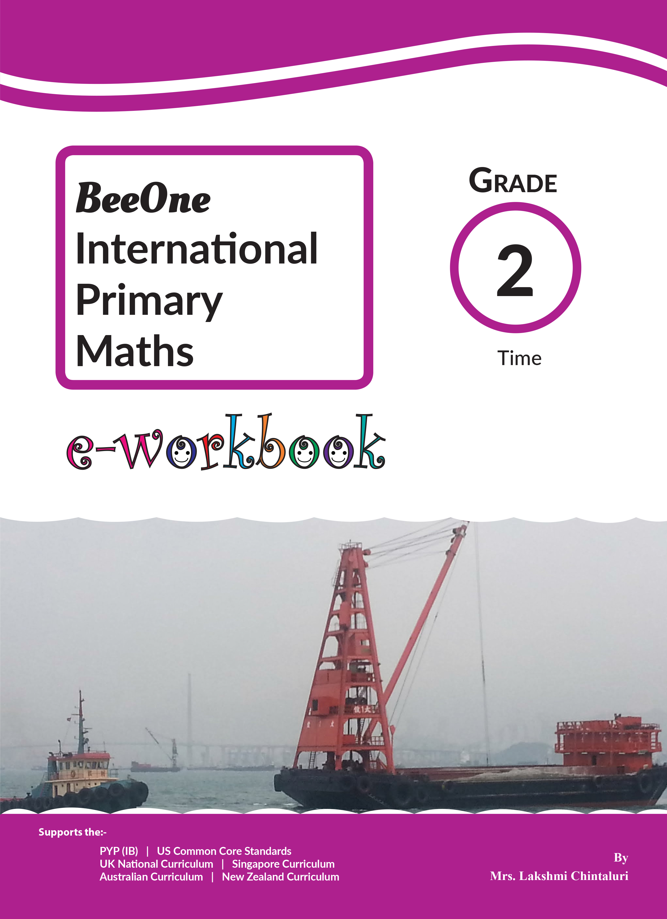 Grade 2 Time Workbook Of 24 Pages From Beeone Books
