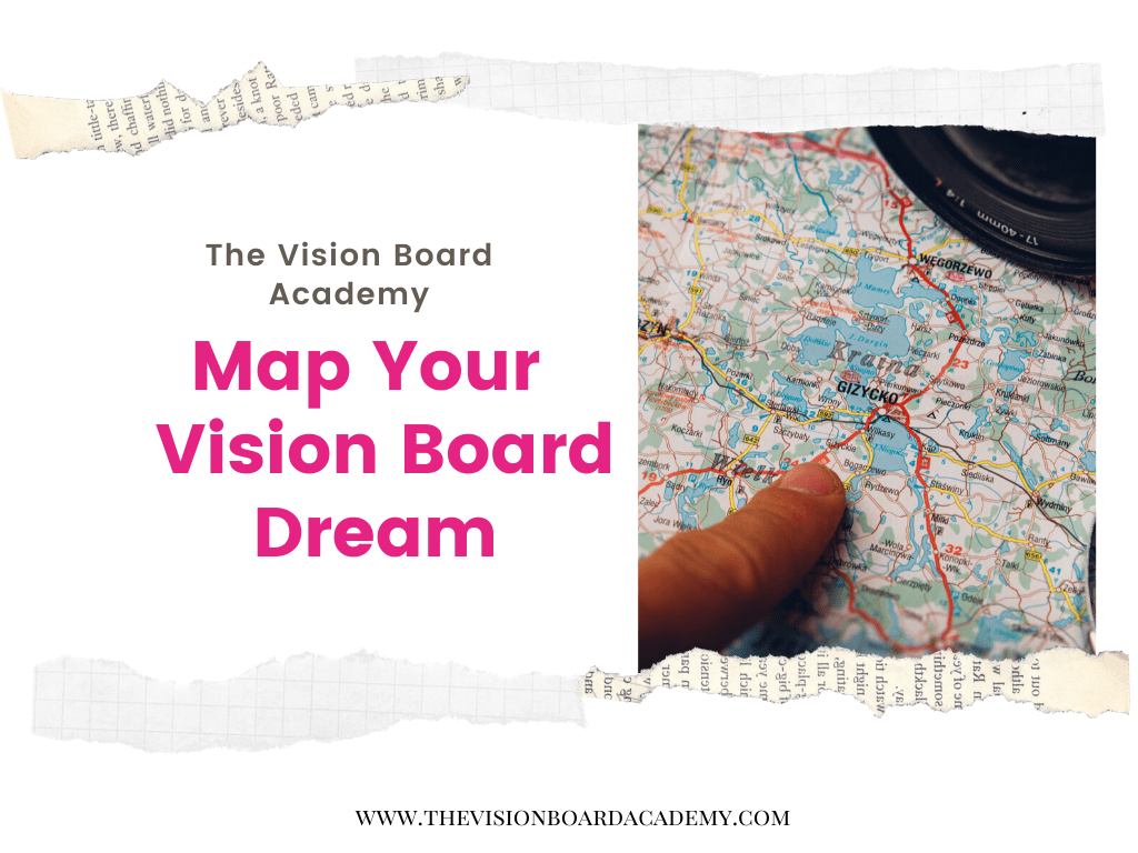Map Your Vision Board Worksheet