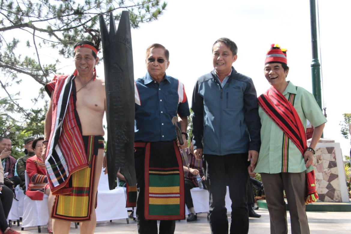 "CAR adopts Dureza as ""Son of Cordillera"""
