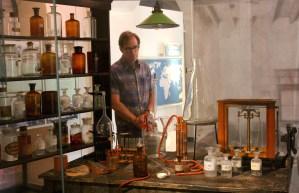 A recreation of Nobel's laboratory in Sanremo, Italy