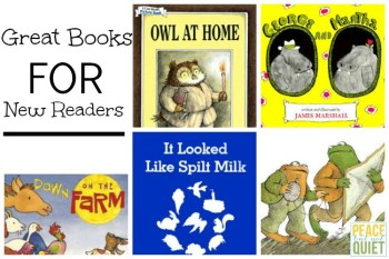 Great Books for Budding Readers