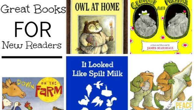 9 good books for new readers -- these books are great for budding readers to practice their skills!