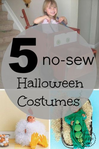 5 Easy DIY Halloween Costumes