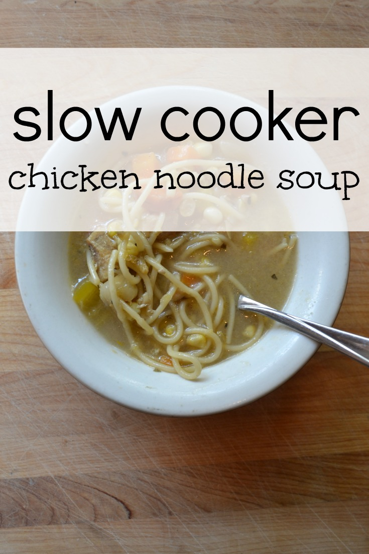 slow cooker chicken noodle soup recipe