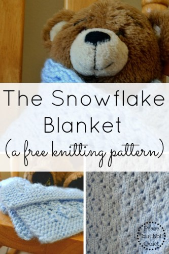 The Snowflake Knitting Pattern Redux