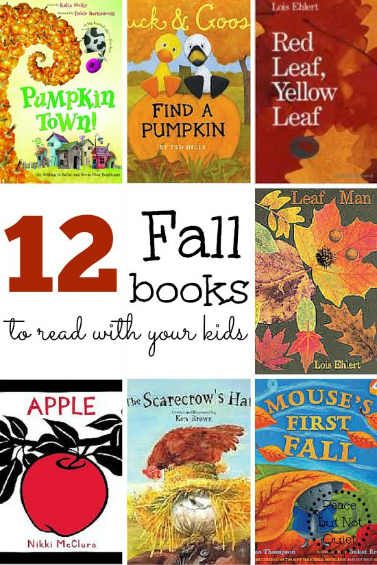 Looking for some books about the autumn season? Check out these 12 fall books for kids!