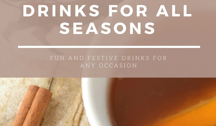 ebook of 40 different drinks and beverages