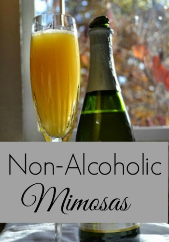 Non Alcoholic Drinks — A Mimosa Recipe