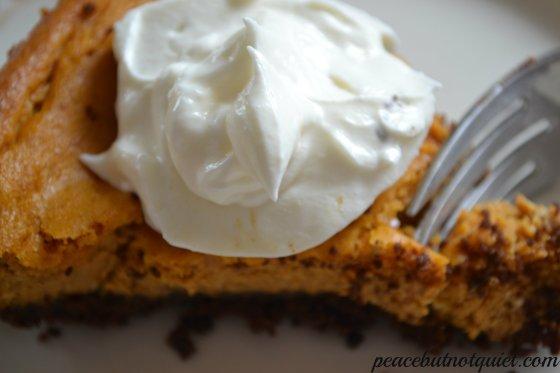 pumpkin cheesecake cu