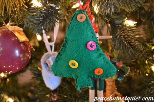 easy sew ornament