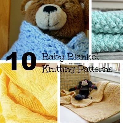 10 Baby Blanket Knitting Patterns