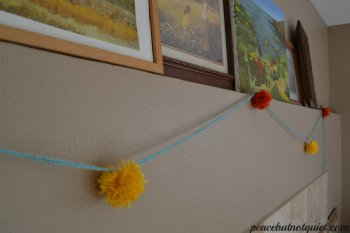 The Pom Pom Garland