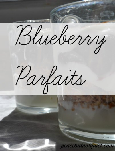 Blueberry Parfaits