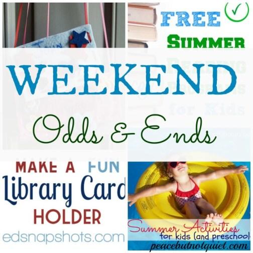 weekend odds & ends