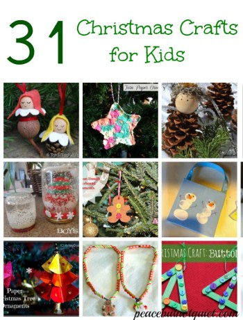 Christmas Crafts for Kids — And a $2,000 Giveaway!
