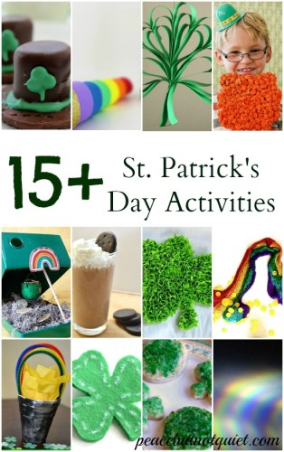 15+ St Patricks Day Crafts and Recipes