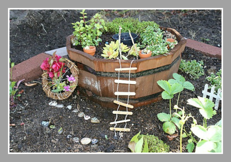 Front yard decorating ideas - Fairy Garden Ideas Peace But Not Quiet