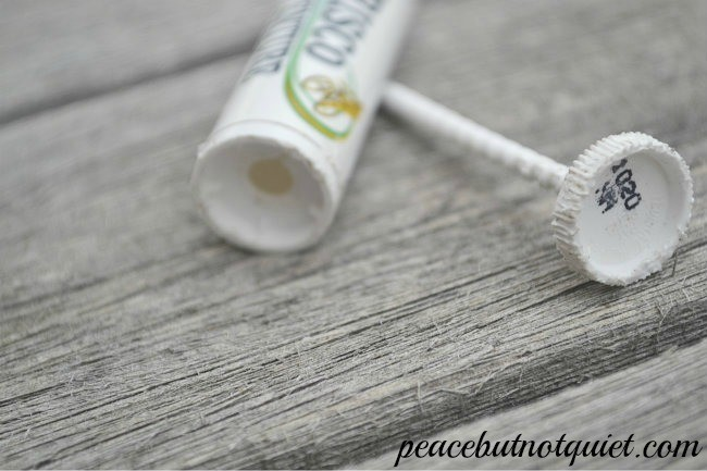 Lip Balm Rocket -- don't throw away those old lip balm tubes! Use them to make a fun lip balm rocket...and learn a little something, too.