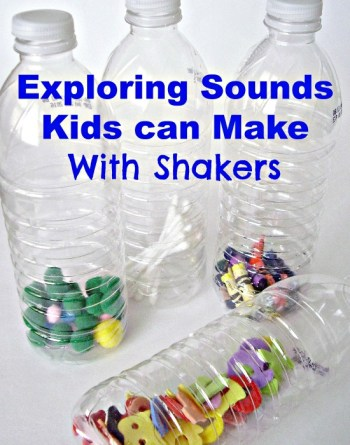 Exploring Sounds Kids Can Make With Shakers