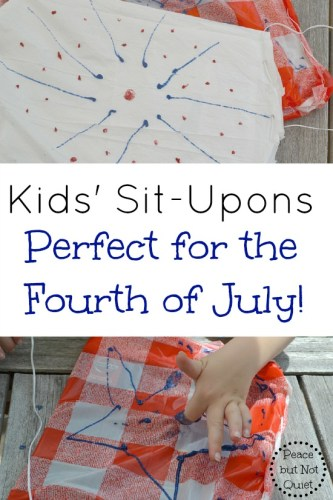 Fourth of July Situpons