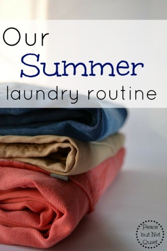 Our Summer Laundry Routine — and a Coupon!
