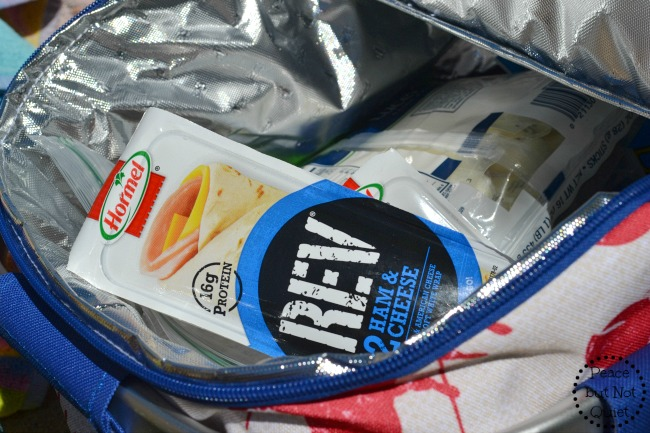 Hormel REV wraps are great snacks for teens, with protein and other nutrients they need!
