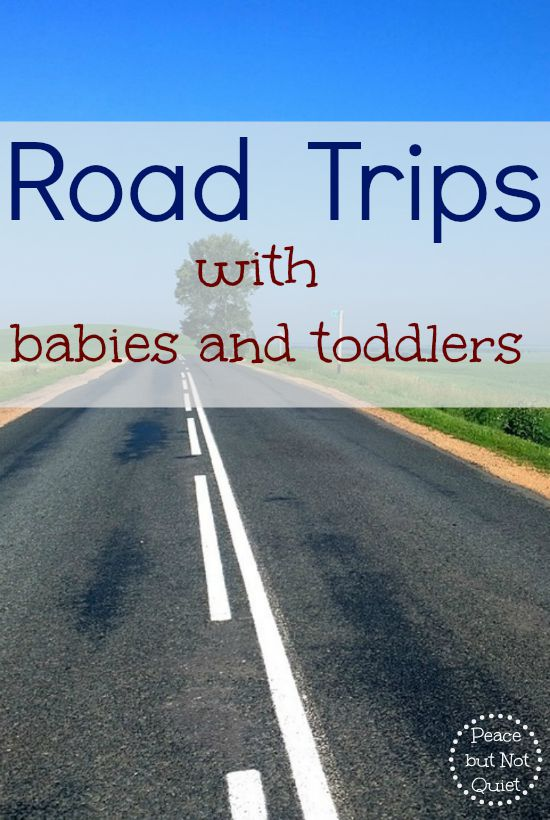Tips and tricks for taking road trips with babies and young children!