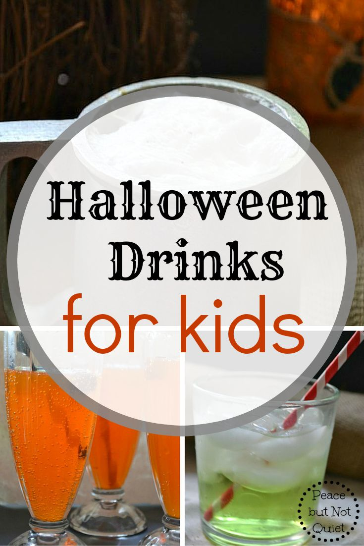 Recipes for fun, tasty Halloween drinks for kids