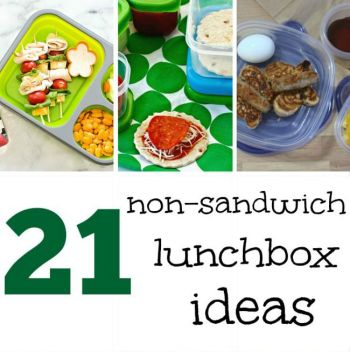 21 Non Sandwich School Lunch Ideas