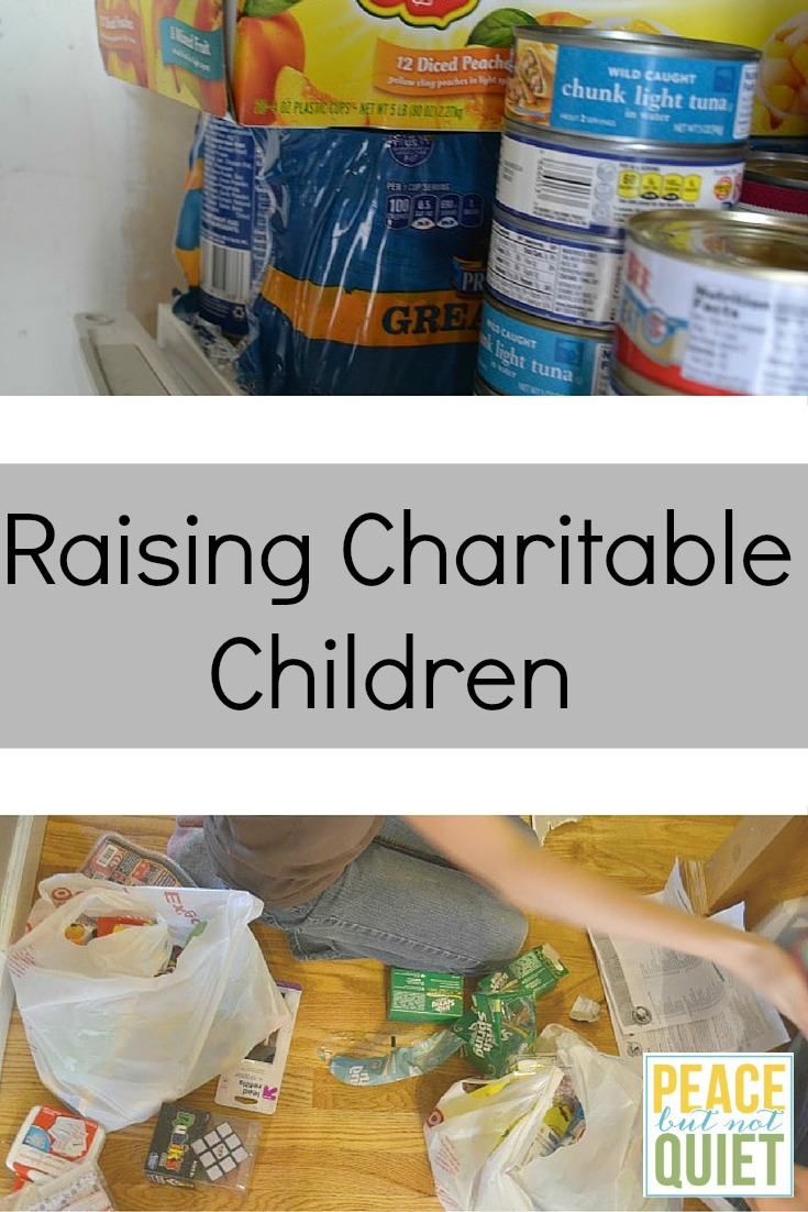 Tips and advice for raising charitable kids who give back!