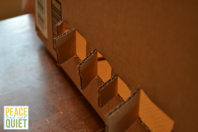 Do you have a ton of cardboard shipping boxes leftover from Christmas? Make these easy, super cute dollhouses -- as much fun to make as they are to play with!