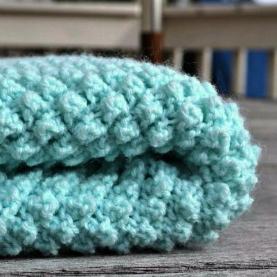 Popcorn Baby Blanket