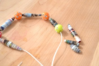 How to Make Magazine Beads