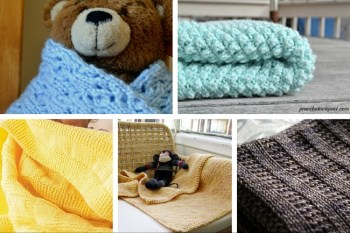 10 Adorable Baby Blanket Knitting Patterns