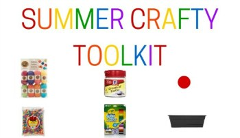 Our Must-Have Summer Toolkit for Crafts and Activities