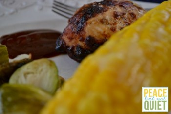Delicious Citrus Grilled Chicken and the Perfect Summer Meal