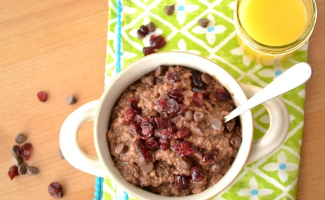 Delicious Instant Pot Recipes: Chocolate Oatmeal