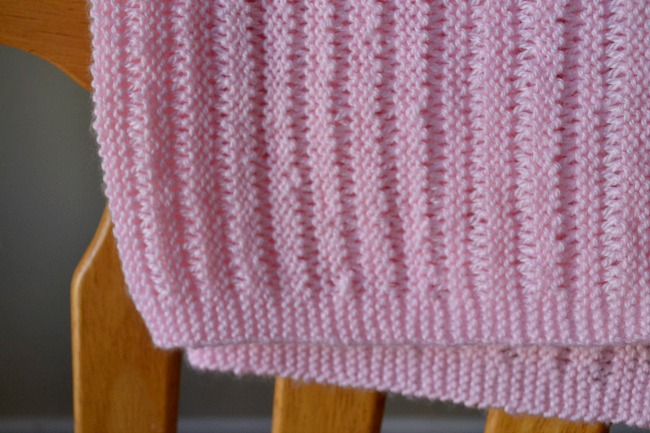 Free Baby Blanket Knitting Pattern -- The Dropstitch Blanket | Peace ...
