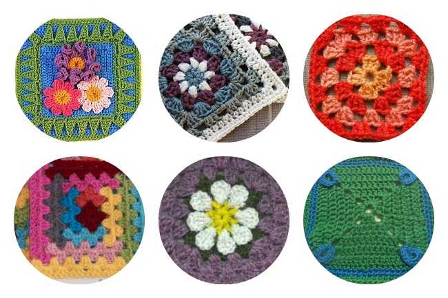 10 granny square patterns to crochet