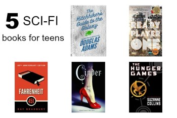The Sci-Fi Reading List for Teens and Tweens