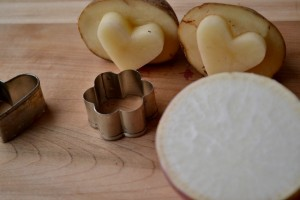 How to Make Creative, Easy Vegetable Stamps