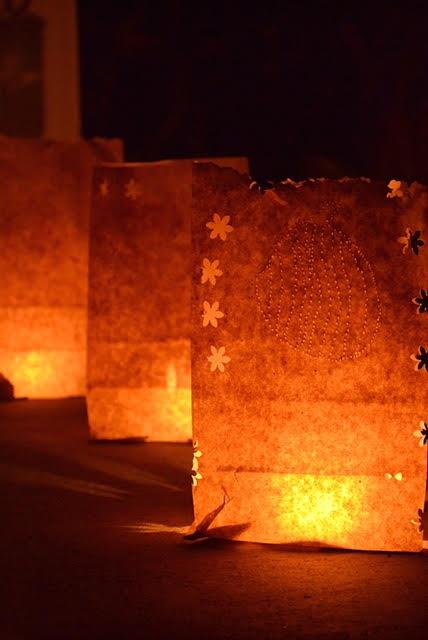 Halloween decorations luminaria