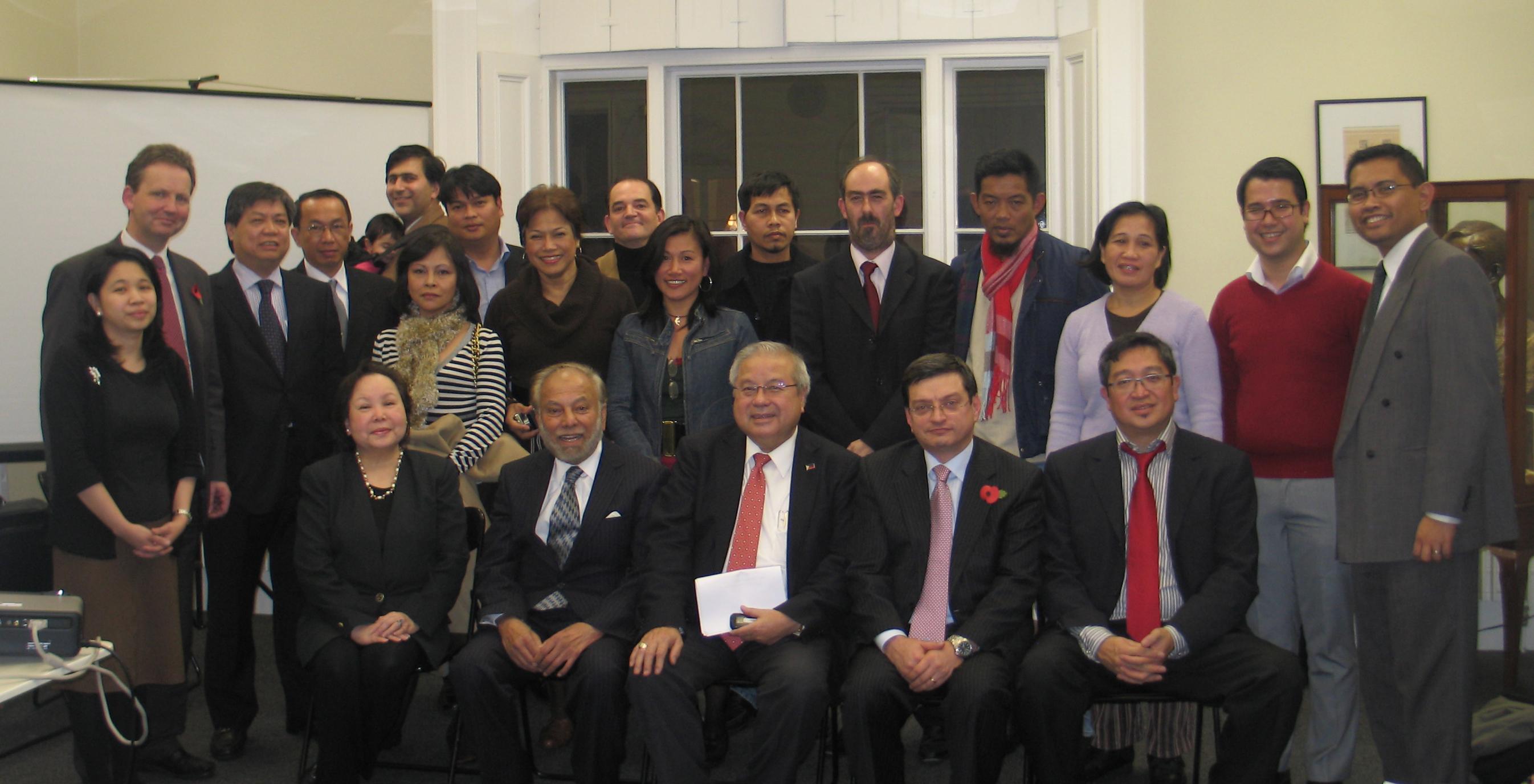 Group Photo Philippine Embassy