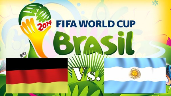 Germany-VS-Argentina Football World Cup Final 2014
