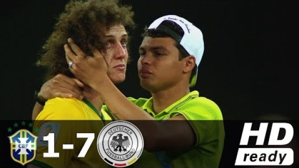 Brazil vs Germany 1-7 (World Cup 2014 Semi-Final) - All Goals & Extended Highlights 08/07/2014 HD